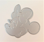 Scrapbooking Die-Smiling Mouse with Bow